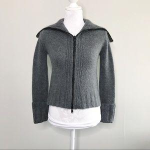 Ann Demeulemeester Alpaca Zip Cardigan/Jacket